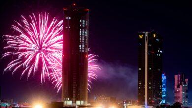 Photo of الألعاب النارية تضيء سماء عمان (صور)