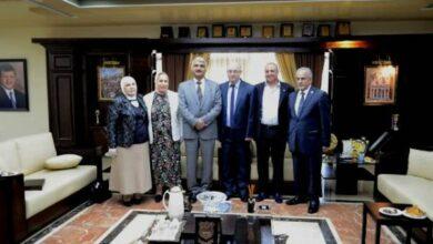 Photo of تكريم أساتذة من كلية الصيدلة في جامعة عمان الأهلية