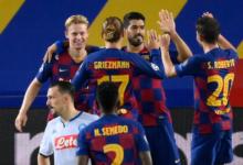 Photo of برشلونة يتجاوز نابولي ويضرب موعدًا مع بايرن ميونخ