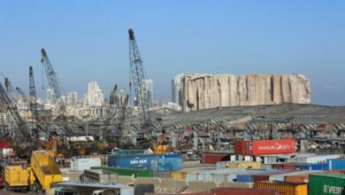 "Photo of عون: 15 مليار دولار خسائر انفجار ""بيروت"""