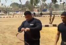 Photo of شاهد بالفيديو الضابط المصري الذي قتل خلال محاولة هروب 4 سجناء