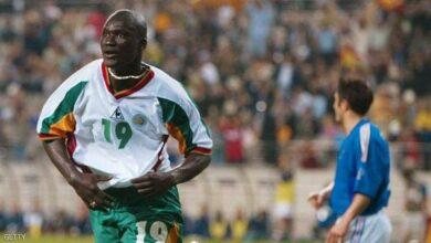 "Photo of وفاة نجم السنغال ""قاهر"" الديوك في مونديال 2002"