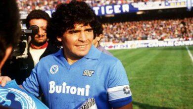 Photo of عمدة نابولي يطالب بإطلاق اسم مارادونا على استاد المدينة