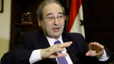 Photo of المقداد وزيرا للخارجية السورية