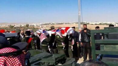 Photo of تشييع جثمان الصرايرة وسط مراسم عسكرية